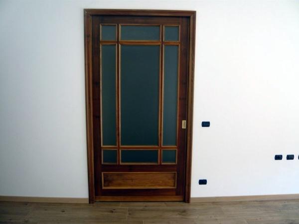 Foto montaggio porta scorrevole su misura di la rosa - Porta scorrevole su misura ...