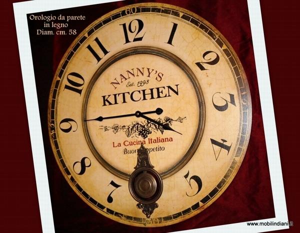 Foto orologio etnico di mobili etnici 113755 habitissimo for Arredamento etnico bari