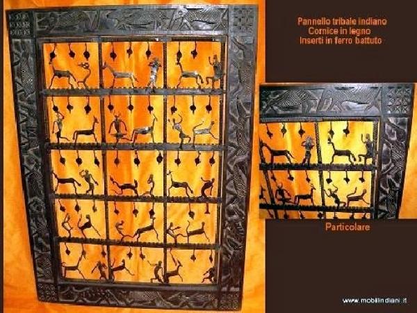 Foto pannello tribale etnico di mobili etnici 41860 for Arredamento etnico bari