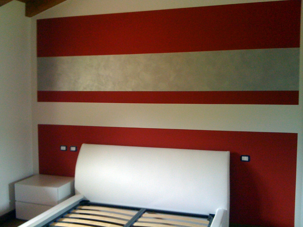Foto parete capo letto di cortinovis cristian 93220 - Testata letto cartongesso ...
