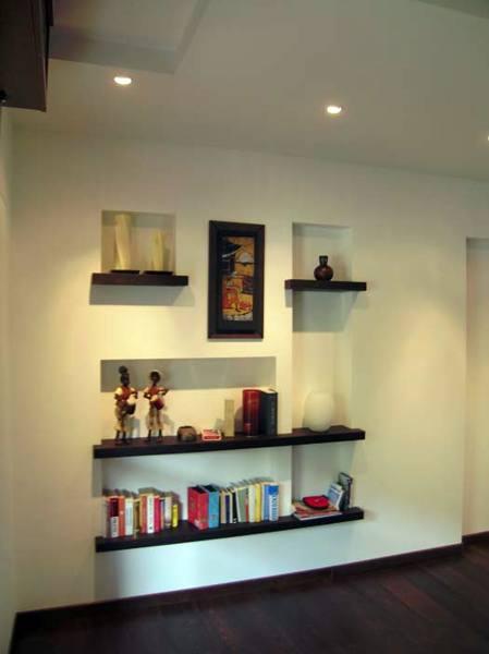 Foto parete in cartongesso con nicchie di trevi for Nicchie nel muro idee