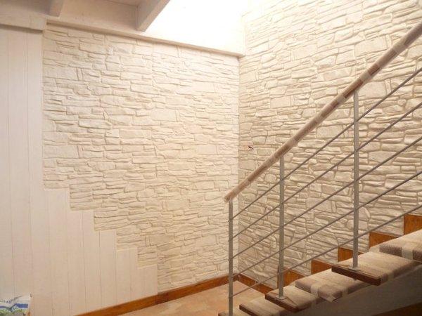 Foto parete pietra stampata di tonio murro 187935 - Parete rivestita in pietra ...
