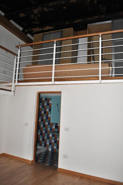 Foto particolare della balaustra del soppalco in camera da letto di raffaella forgione 65214 - Camere da letto con soppalco ...