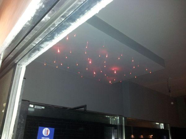 Foto: particolare illuminazione fibra ottica bagno di f.e.j.a. di