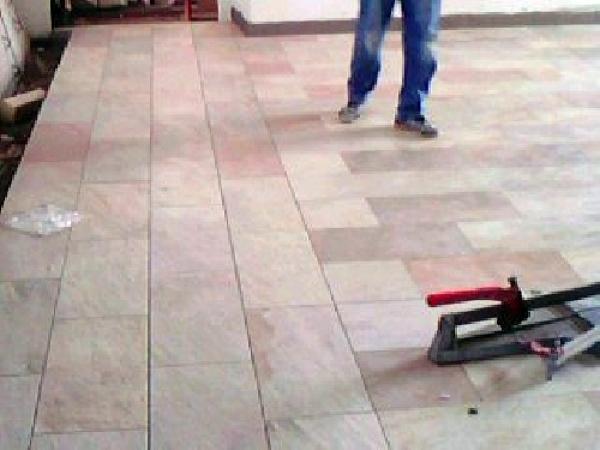 Foto pavimento in finta pietra di edil damiani 77079 for Pannelli finta pietra ikea