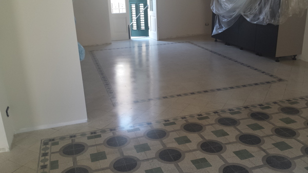 Foto pavimento in graniglia di cemento di cannao 39 giuseppe lucidatura pavimenti 228240 - Piastrelle di graniglia ...