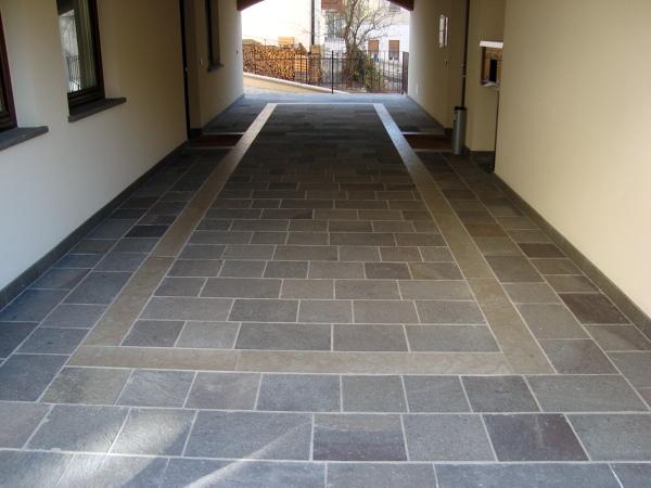 Foto pavimento in porfido piastrelle porfido girasole for Sears garage pavimentazione