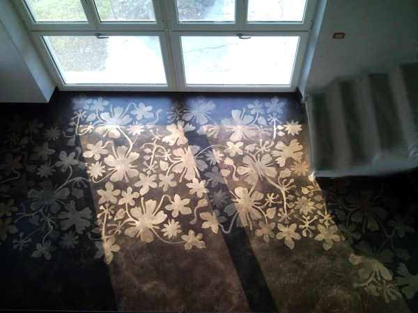 Foto pavimento in resina di progettazione e for Pavimento in resina 3d
