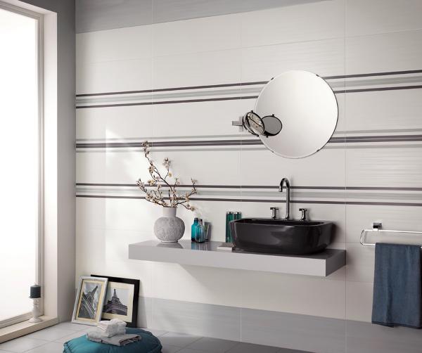 Foto piastrelle per bagni linea dress up di ceramiche supergres 84707 habitissimo - Piastrelle x bagni ...