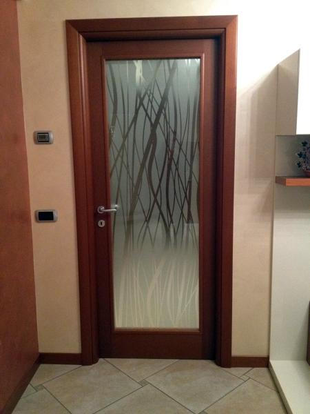 Foto porta con vetro madras di 035 serramenti e vetri - Porta a vetri scorrevole prezzi ...