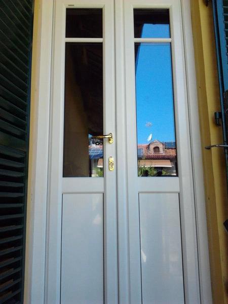 Foto porta finestra in pvc bianco di an d al serramenti di amati ivan 130392 habitissimo - Controtelaio finestra pvc ...
