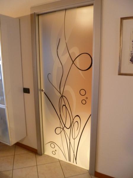 Foto: Porta In Vetro Decorata di Vetrivart #168321 - Habitissimo