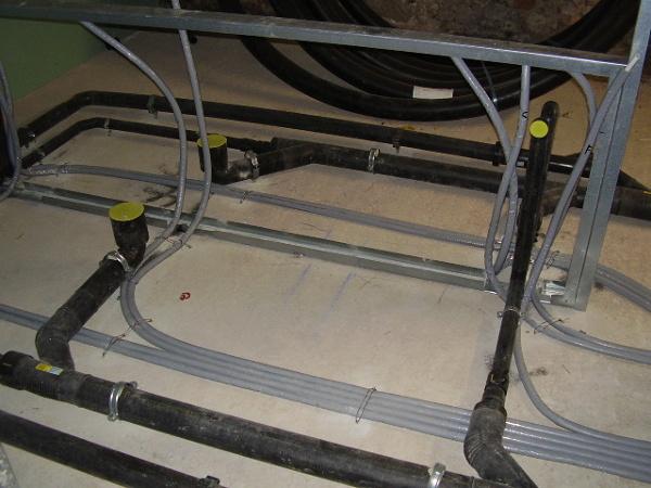 Foto preparazione tubazione bagno con tubazione di for G m bagno di giuntini massimo