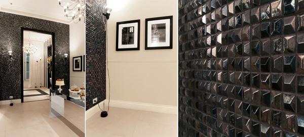 Foto preziose pareti a rilievo per un bagno fine ed for Pareti eleganti