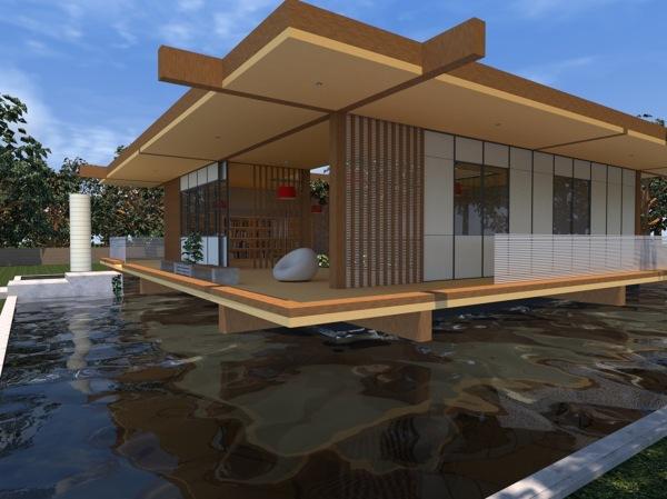 Foto progettazione di idea innovativa di casa di arch for Software di progettazione di edifici per la casa gratuito