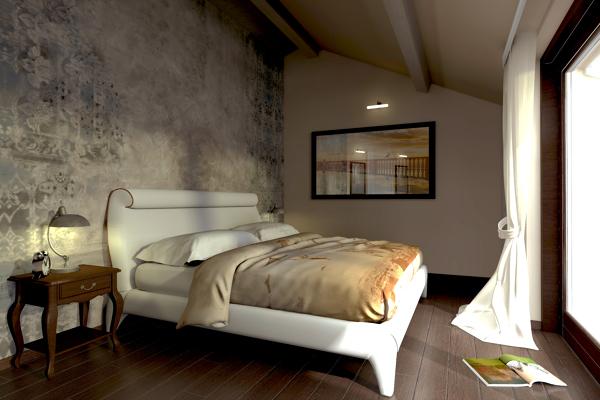Foto progetto e modellazione camera da letto di studio di architettura 256871 habitissimo - Progetto camera da letto ...