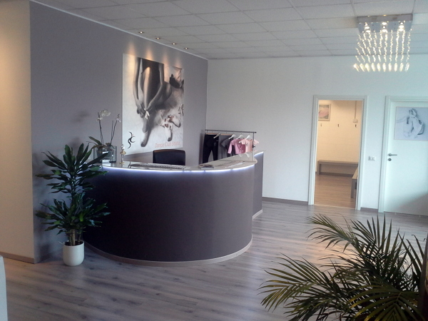 Foto reception di artigiana extra srl 95825 habitissimo for Arredamento reception estetica