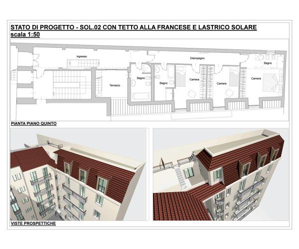 Foto: Recupero Sottotetto di M&c Architetti Associati #102023 ...