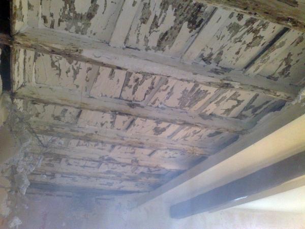 Foto: Restauro Soffitto In Legno - Prima di Edilsed ...