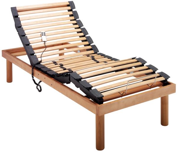 Foto rete da letto motorizzata elettrica in legno tancredi de tancredi srl 51664 habitissimo - Rete letto legno ...