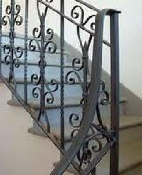 Foto ringhiera interna di ci ma 95295 habitissimo - Ringhiere in ferro per interni ...