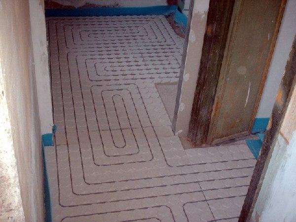 Foto riscaldamento a pavimento a secco clima di climatek