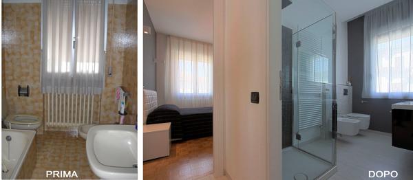 Foto ristrutturazione appartamento di studio maa design for Foto di appartamenti ristrutturati