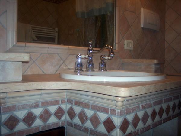 Foto ristrutturazione bagno con lavabo in muratura di mengoni ristrutturazioni finiture - Bagno in muratura moderno ...