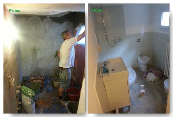 Foto ristrutturazione completa bagno di garretto costruzioni
