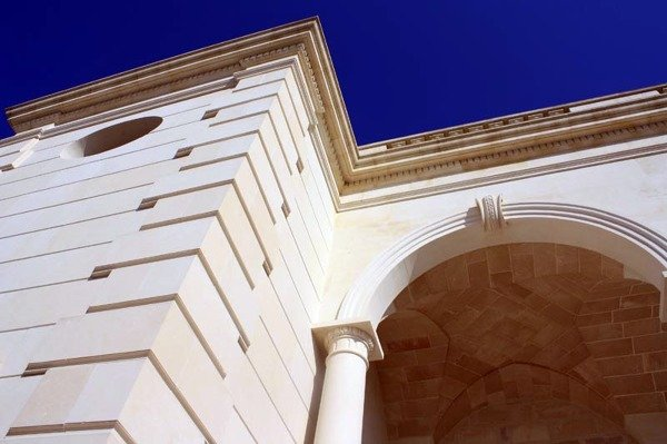 Rivestimenti Esterni In Pietra Leccese.Foto Rivestimenti Archi Colonne In Pietra Naturale Di