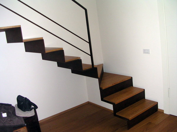 Foto scala in ferro per interno di og carpenteria 114354 - Scale per interni catania ...