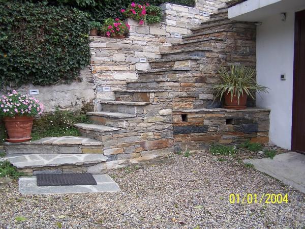 Foto scala in pietra di luserna a secco di alasia valter 149201 habitissimo - Scale in giardino ...