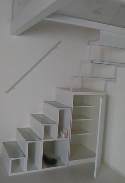 Foto scala interna in acciaio legno di peverelli co 213959 habitissimo - Scala interna in legno ...