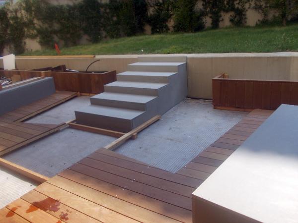 foto sistemazione esterna giardino privato di impresa