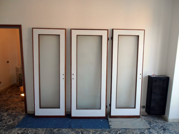 Foto smaltatura porte de impresa edile fernando 57713 - Porte x cabine armadio ...
