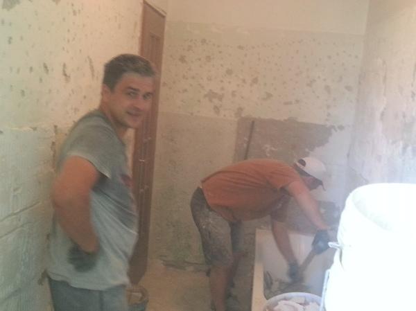 Foto smantellamento pavimento e rivestimento bagno di - Pavimento e rivestimento bagno ...