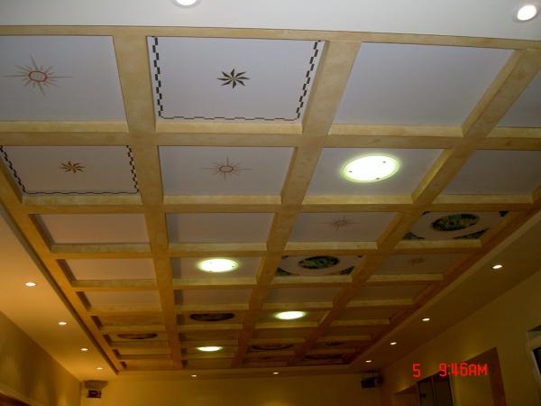 Foto: soffitti in cartongesso a cassettoni di borocci marco #101546