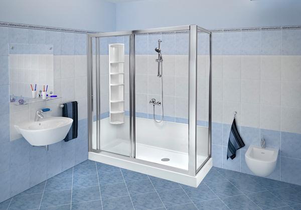 Foto trasformazione vasca in doccia standard con colonna di remail 322627 habitissimo - Bagni remail prezzi ...
