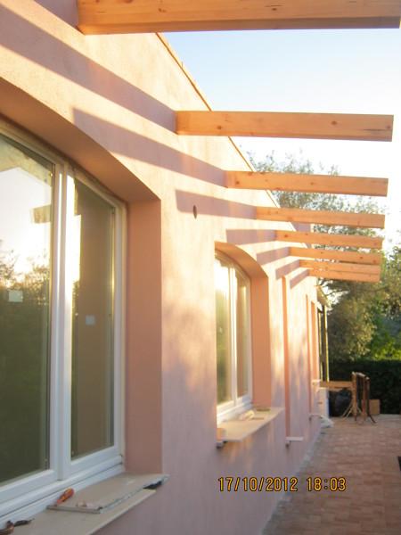 Foto struttura in legno ampliamento piano casa via for Generatore di piano casa
