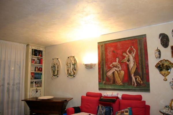 Foto stucco veneziano con soffitto marcopolo di a s g di for Bagni con stucco veneziano
