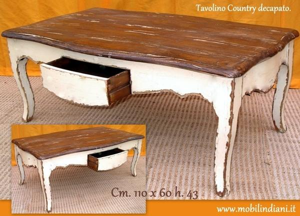 Foto tavolino etnico decapato di mobili etnici 114054 for Arredamento etnico bari