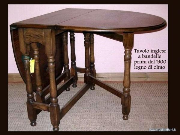 Tavolo A Bandelle Moderno.Foto Tavolo Inglese A Bandelle Di Mobili Etnici 61512 Habitissimo