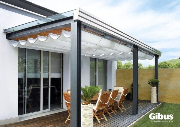 Foto tenda med gc serie inox line gibus di steel wood for Arredo inox crotone