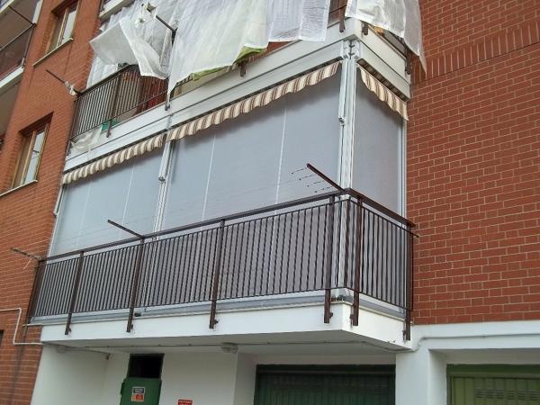 Tende Veranda Torino : Foto tenda veranda con cassonetto torino chieri