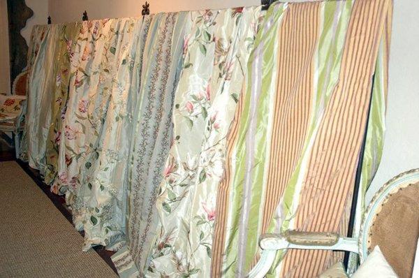 Foto tessuti ricamati inglesi e francesi di dimore 49083 for Tessuti arredamento inglesi