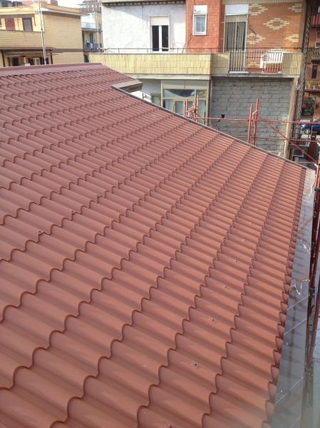 Foto tetto coibendato de impresa macchioni 225338 for Stili tetto tetto