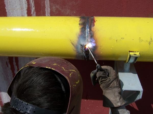 Foto tubazioni gas metano di pesenti impianti 101183 - Tubazioni gas metano interrate ...