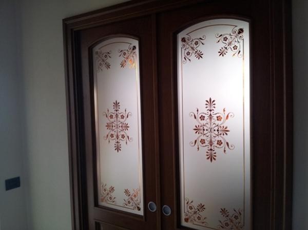 Foto vetri decorati per porte di vetrivart 168327 - Porte x cabine armadio ...