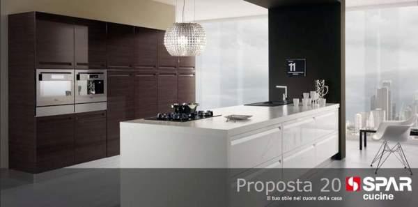 Foto zona giorno moderno cucine spar arreda da tornello for Spar arreda