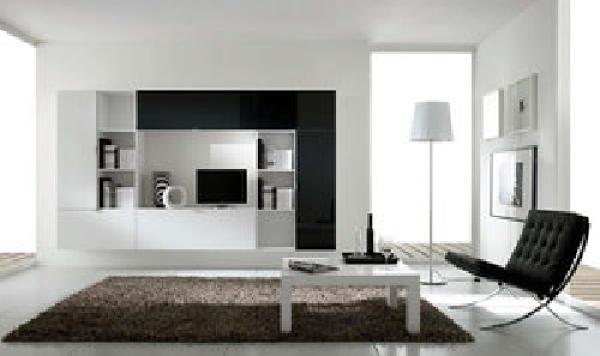 Foto zona giorno moderno parete artigian mobili da for Mobili zona giorno moderni